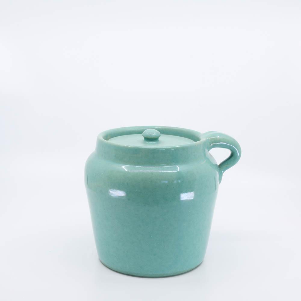 Pacific Pottery Hostessware 227 Beanpot Green