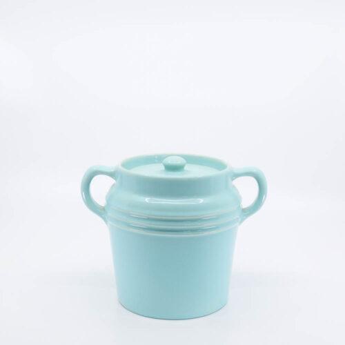 Pacific Pottery Hostessware 235 Beanpot Aqua