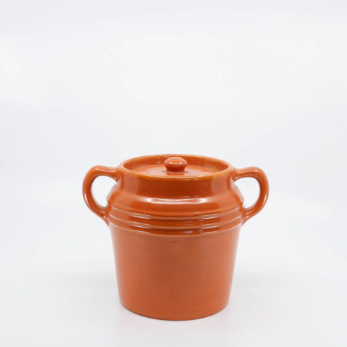 Pacific Pottery Hostessware 235 Beanpot Red