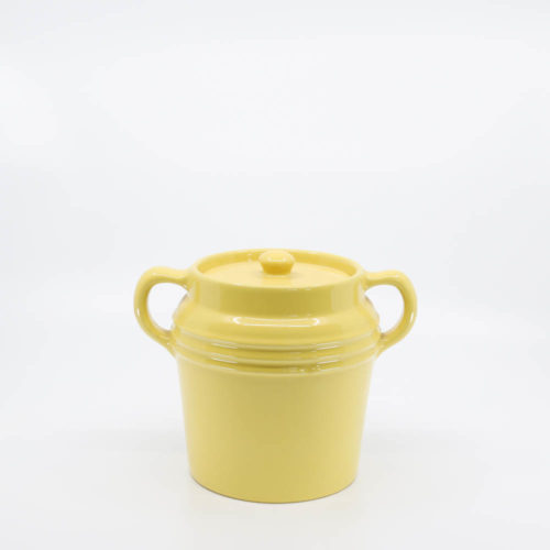 Pacific Pottery Hostessware 235 Beanpot Yellow