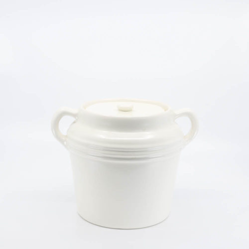 Pacific Pottery Hostessware 236 Beanpot White