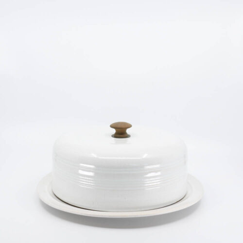 Pacific Pottery Hostessware 416 Cheese Cover White