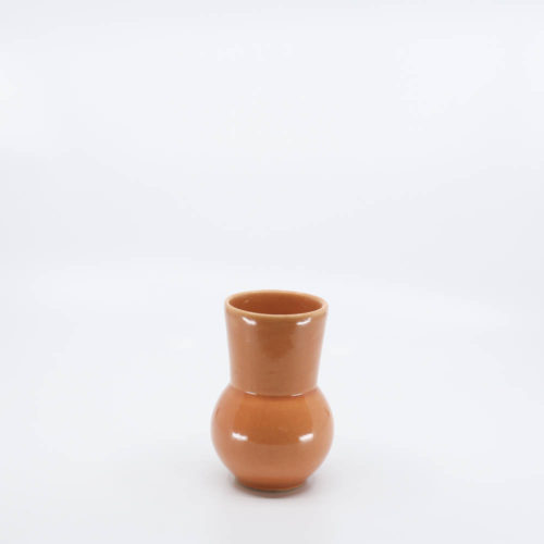 Pacific Pottery Hostessware 419 Ball Tumbler Apricot