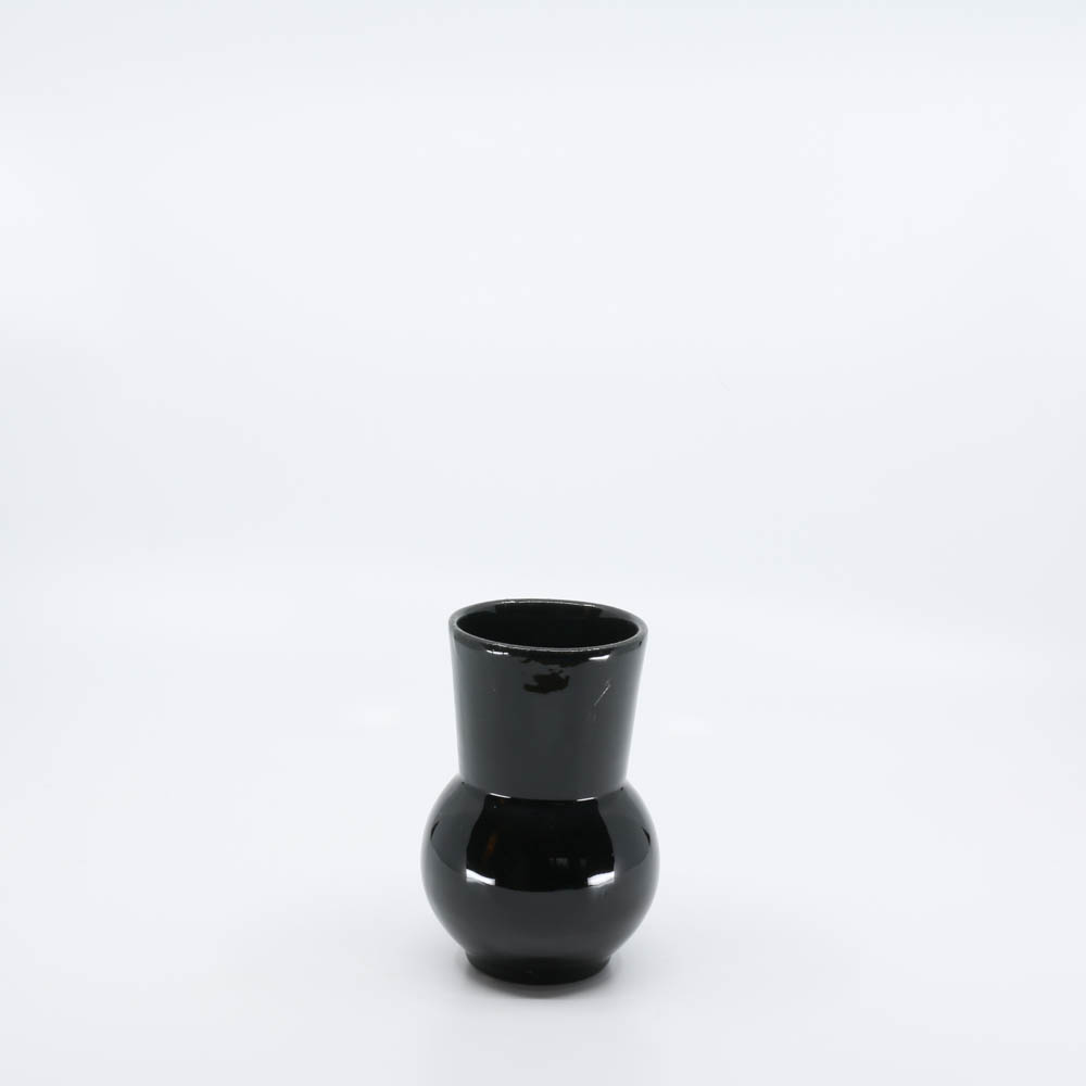 Pacific Pottery Hostessware 419 Ball Tumbler Black