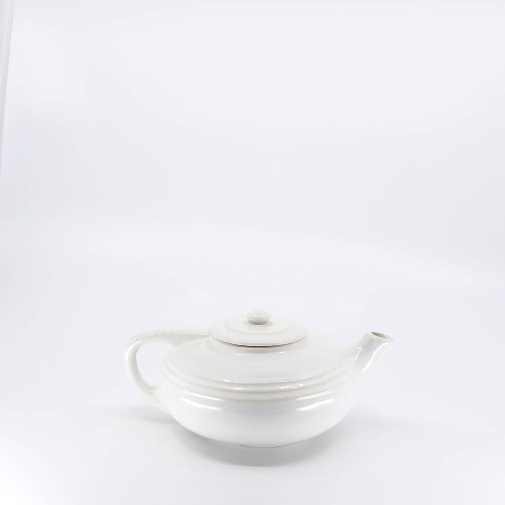 Pacific Pottery Hostessware 438 2-cup Teapot White