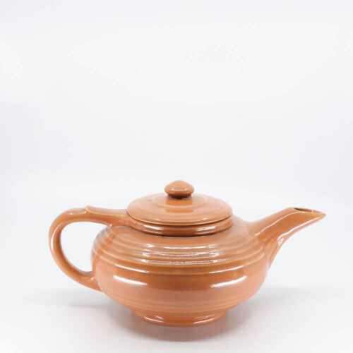 Pacific Pottery Hostessware 440 8-cup Teapot Apricot (early)