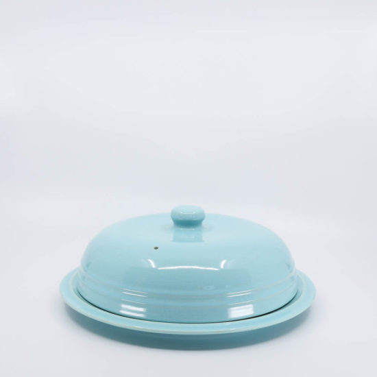 Pacific Pottery Hostessware 639 Muffin Cover Aqua