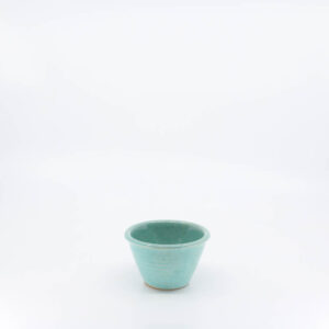 Pacific Pottery Hostessware UNK Custard Alt-Design Green