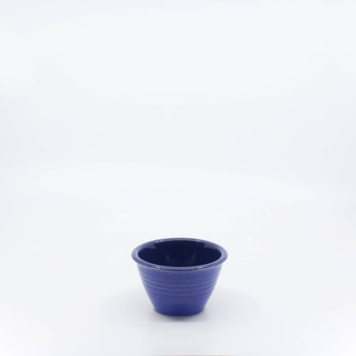 Pacific Pottery Hostessware UNK Custard Alt-Design Pacblue