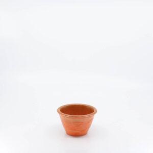 Pacific Pottery Hostessware UNK Custard Alt-Design Red
