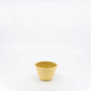 Pacific Pottery Hostessware UNK Custard Alt-Design Yellow