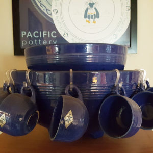 Pacific Pottery 312 Punch Bowl - Pacific Blue
