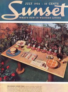 Sunset Magazine July 1936 Pacific Pottery