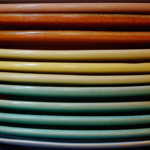 Pacific Pottery Stacked Plates Header