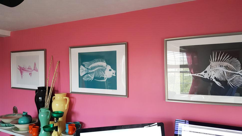 QwkDog Design Fish Skeleton Room 02
