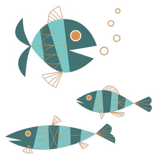 QwkDog Metlox Tropicana Fish Design