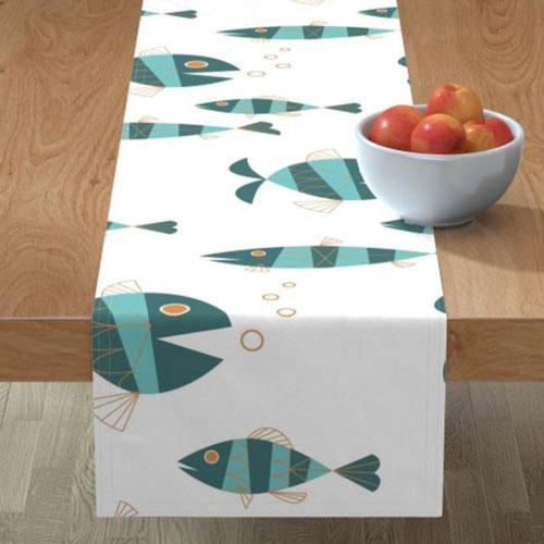QwkDog Metlox Tropicana Fish Design Runner 01