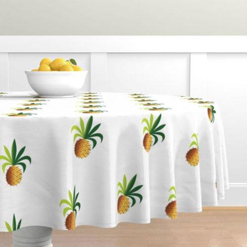 QwkDog Metlox Tropicana Pineapple Tablecloth 01
