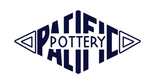 QwkDog Pacific Pottery Logo Design