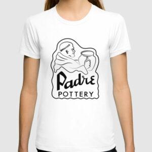 QwkDog Padre Pottery Logo Design T-Shirt