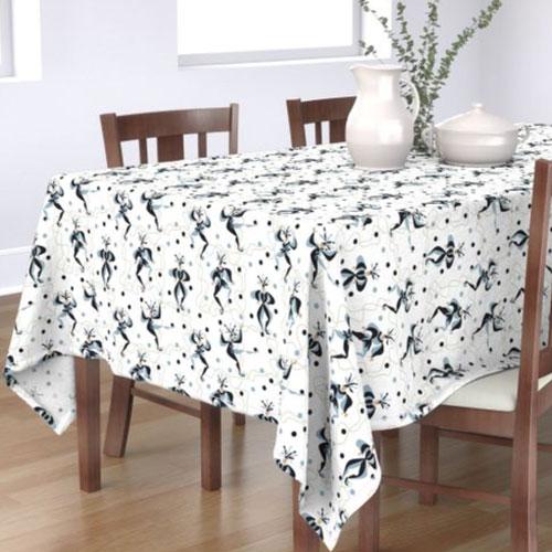 QwkDog Red Wing Kermis Pattern Design Tablecloth 03