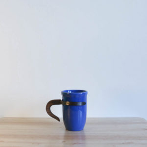 Vernon Kilns Coronado Tumbler Blue