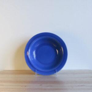 Vernon Kilns Early California Bowl Soup Blue