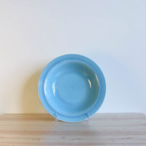 Vernon Kilns Early California Bowl Soup Turquoise