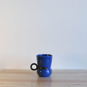 Vernon Kilns Early California No 3 Tumbler Blue