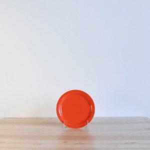 Vernon Kilns Early California Coaster Orange