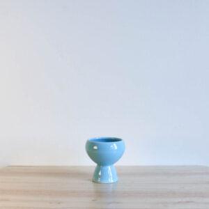 Vernon Kilns Early California Eggcup Turquoise