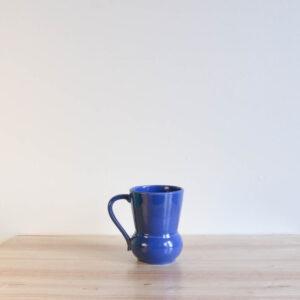 Vernon Kilns Early California #3 Handled Tumbler Blue