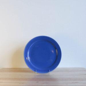 Vernon Kilns Early California Salad Plate Blue