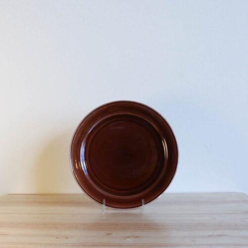 Vernon Kilns Early California Salad Plate Brown