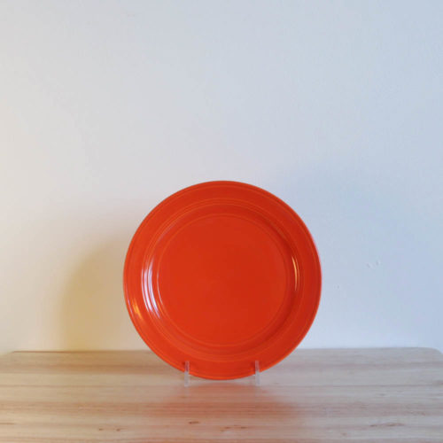 Vernon Kilns Early California Salad Plate Orange