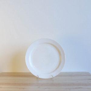 Vernon Kilns Early California Salad Plate White