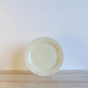 Vernon Kilns Early California Salad Plate Yellow