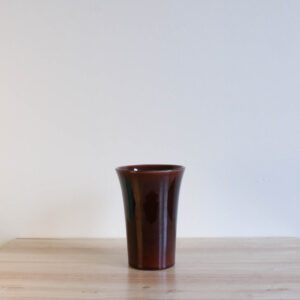 Vernon Kilns Early California Tall Tumbler Brown