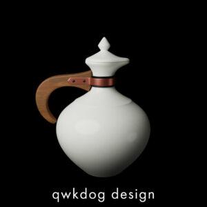 QwkDog Bauer Pottery Plainware Carafe