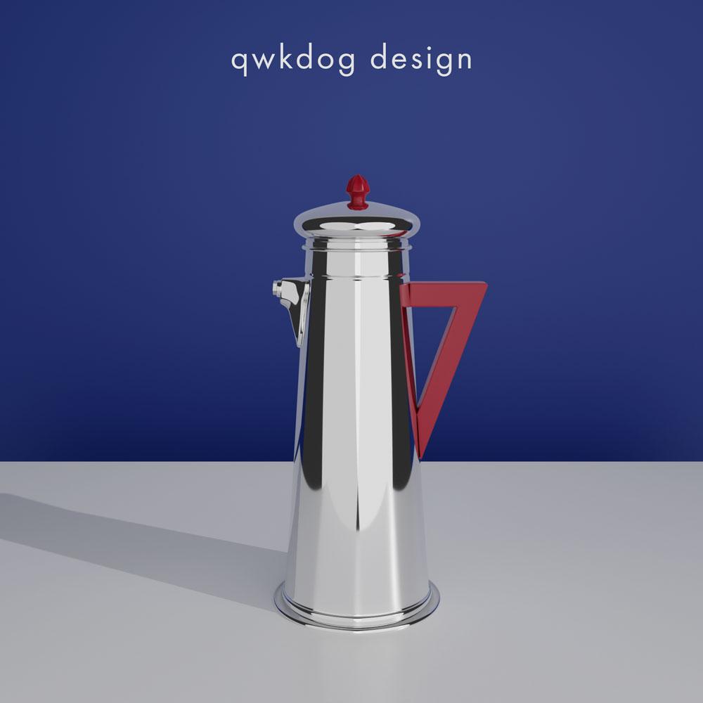 QwkDog 3D Art Deco Shaker - Forman Bros