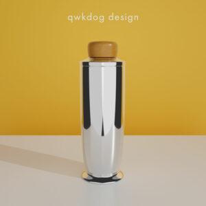 QwkDog 3D Art Deco Shaker - Manning Bowman Connoisseur