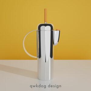 QwkDog 3D Art Deco Shaker - Revere Empire