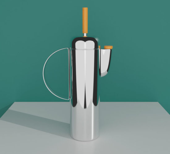 QwkDog Art Deco 3D Manning-Bowman Shaker