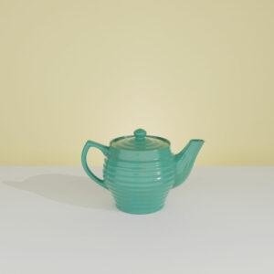 QwkDog 3D Bauer Pottery Mini Teapot