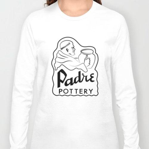 QwkDog Padre Pottery T-Shirt