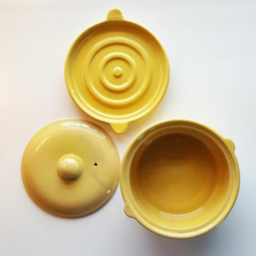 Pacific Pottery Hostessware 200-201 Casserole Yellow
