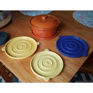 Pacific Pottery Hostessware 201 203 Trivets