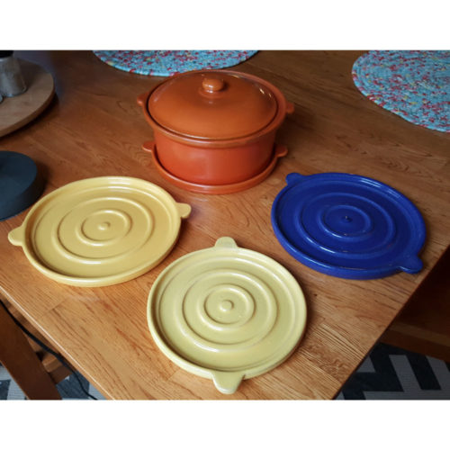 Pacific Pottery Hostessware 201 203 Trivets