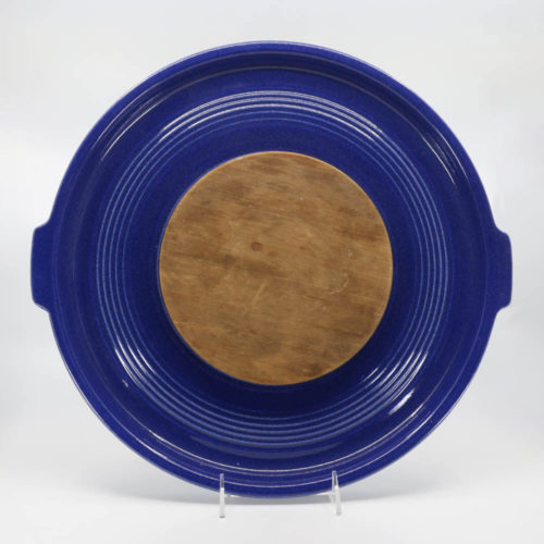 Pacific Pottery Hostessware 414 Tab Platter Cheese Pacblue