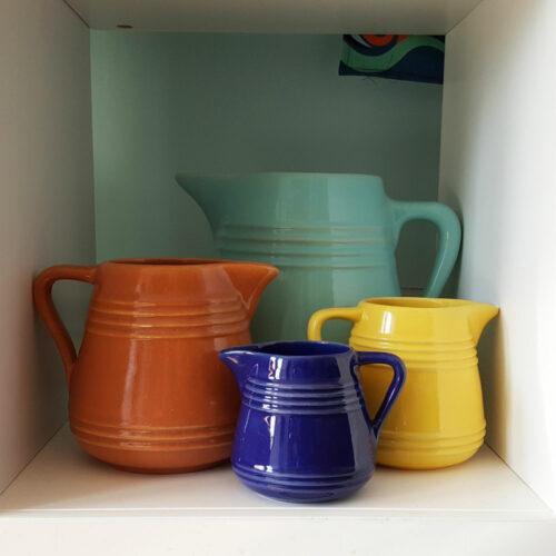 Pacific Pottery Hostessware Milk Pitcher Set